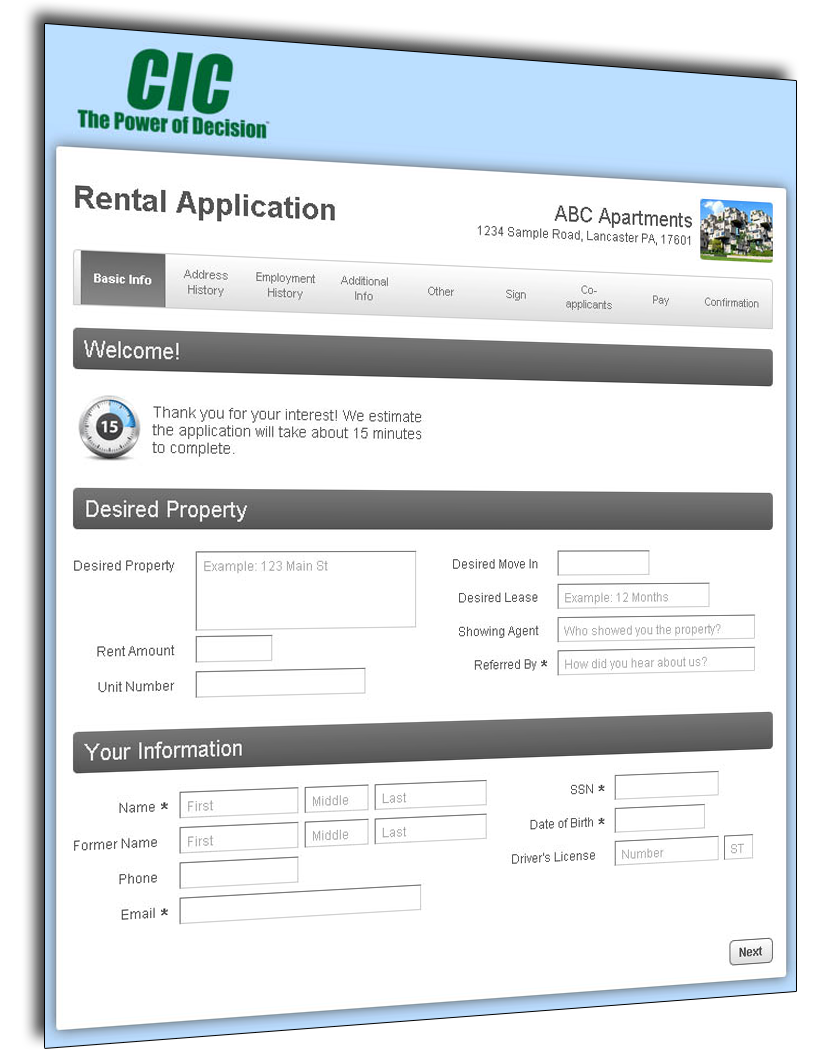 Online Rental Applications - Ready2Apply